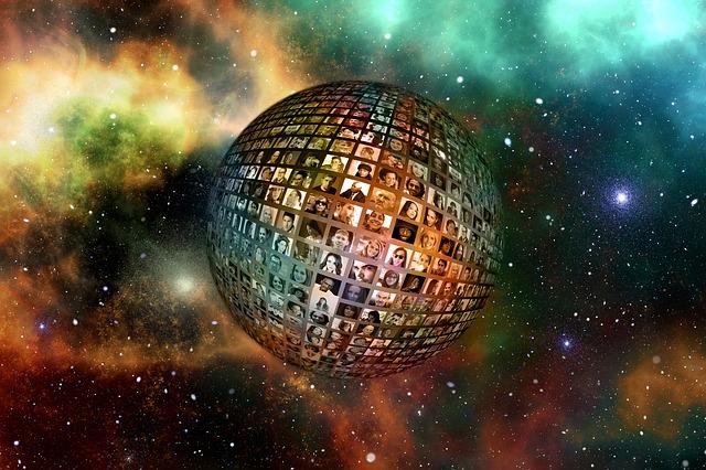 koule ve vesmíru